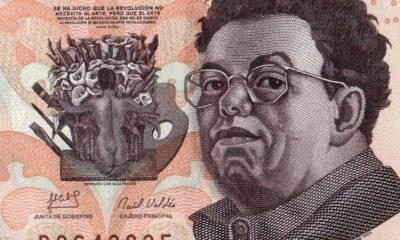 Diego Rivera en los billetes de a 500