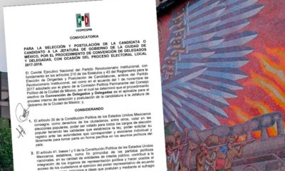 Convocatoria de PRI a Jefatura de Gobierno