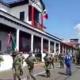 Se desploma templete en Michoacán