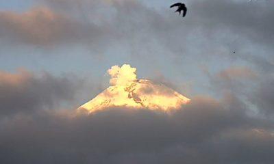 Popocatepelt volcán actividad volcánica