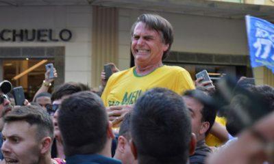 Candidato Brasil apuñalado Bolsonaro