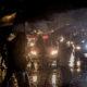 CIUDAD DE MÉXICO, 25JUNIO2018.- Decenas de capitalinos sacaron sus paraguas y capas de plastico esta noche debido a que se desató una intensa lluvia durante un par de horas. FOTO: TERCERO DÍAZ/ CAURTOSCURO.COM