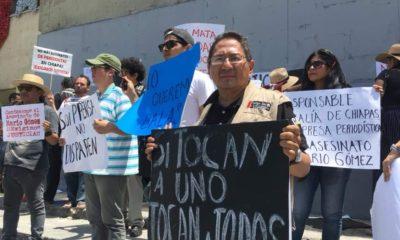 Mario Gomez, Periodista asesinado, Chiapas