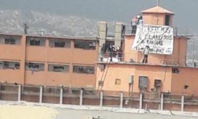 Topo Chico reos protesta cuotas violencia