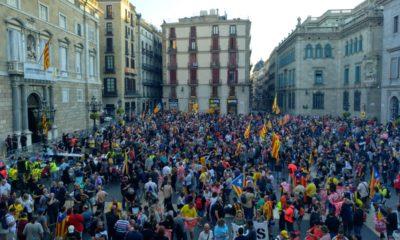 independentistas cataluña policias barcelona