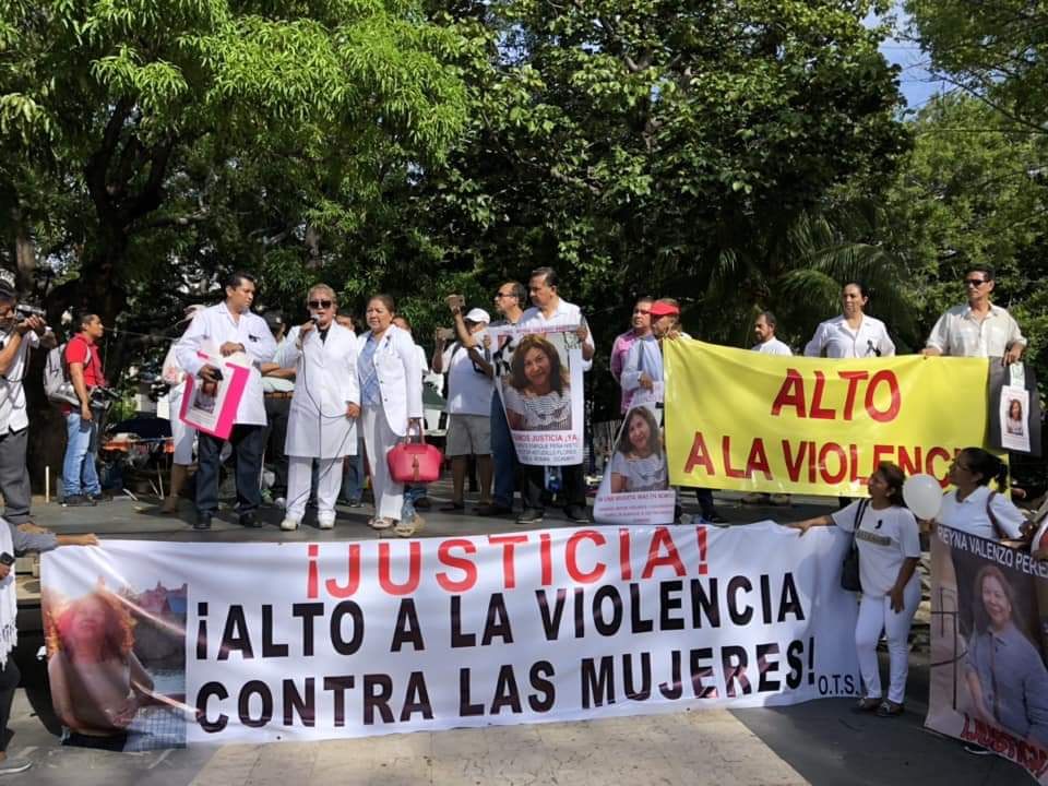 Médicos, Acapulco, Marcha