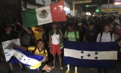 Caravana migrante, Honduras, Huixtla, Mapastepec