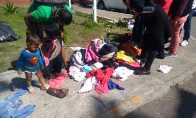 Niños Migrantes son tratados con prioridad en las caravanas migrantes