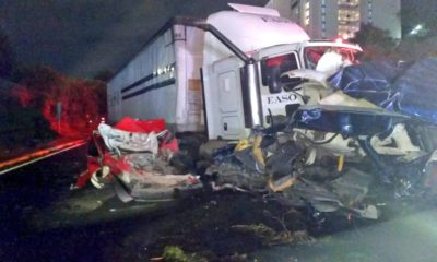 Carambola México Toluca 8 muertos