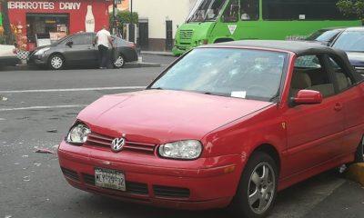 LAdychoques, ladyloca, camioneta, embiste, choca, auto, azcapotzalco, La Hoguera Mx, rojo