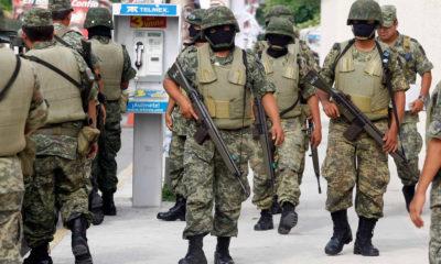 Militares en un operativo en Quintana Roo