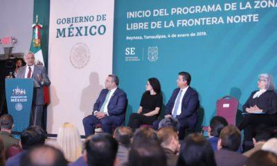 AMLO, Andrés Manuel, López Obrador, Frontera Norte, Zona Libre, Economía, Migración, Tamaulipas, Reynosa,