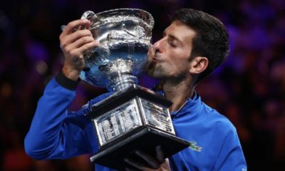 Novak Djokovic es el ganador del Abierto de Australia, siendo una de las figuras de este fin de semana