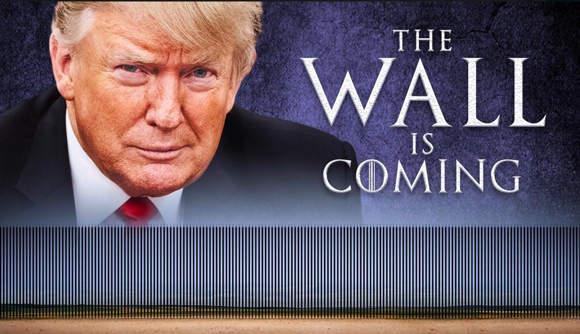 Trump lanza meme sobre muro y dice que este se pagará solo