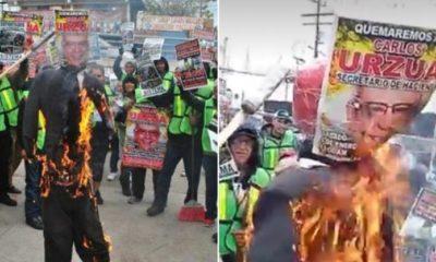 protesta, fondo, migrante, carlos urzúa, queman, imagen, migrantes, migrante, tijuana, baja california,