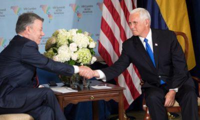 Mike Pence, Pence, Colombia, Estados Unidos, Viaje, Iván Duque, vicepresidente, Grupo de Lima, Lima, Venezuela, Maduro, Nicolás Maduro,
