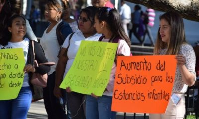 AMLO, López Obrador, Estancias Infantiles, Protestas,