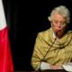 Olga Sánchez Cordero, Disculpa, Perdón, Tec de Monterrey, Tec, Monterrey, Nuevo León, Alumnos, estudiantes, desaparecidos, asesinados, padres, homenaje,