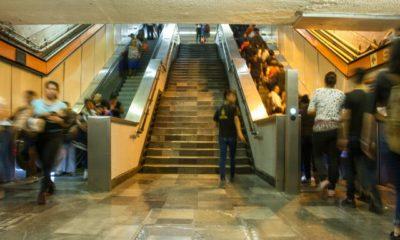 Escaleras, Metro, Eléctircas, Florencia, Paradas, Detenidas, STC, Usuarios,