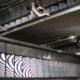 Metro Camarones escaleras