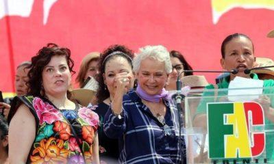 Olga Sánchez Cordero, Arquidiócesis de Xalapa, Aborto, Pro Vida, Frente Nacional, Por la Familia, Niños, Mujeres Embarazadas, Día de la Mujer,