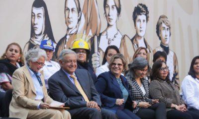 AMLO, Andrés Manuel, López Obrador, Lily Téllez, Frente por la Familia, Aborto, Ley, Antiaborto, Nuevo León, Día de la Mujer, Mujeres,
