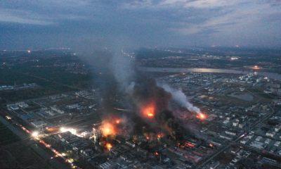 Yancheng, china, explosión, planta, química, muertos, heridos, explota, fuego,