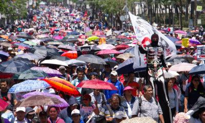 Marcha del Trabajo y más en los números de México y el mundo
