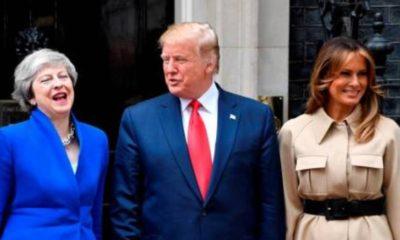Trump reafirma en Reino Unido aranceles para productos mexicanos