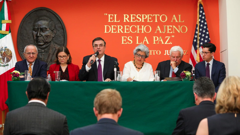 Ebrard, Marcelo Ebrard, Trump, Donald Trump, Aranceles, Impuestos, Estados Unidos, México, Andrés Manuel, López Obrador,