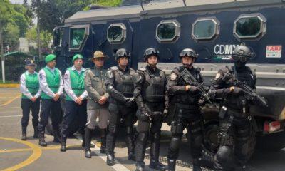 Nuevo cuerpo contra inseguridad en CDMX/La Hoguera