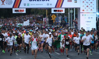 Se imponen corredores kenianos en el maratón de la CDMX2019