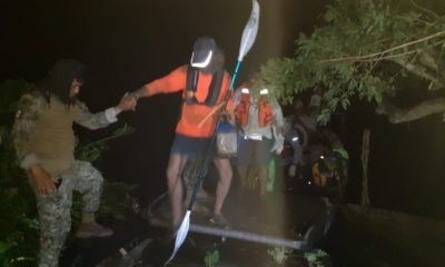 Rescatan a 39 kayakistas en río Coatzacoalcos