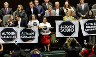 Diputados, Cámara, Etiquetado, Claro, Frontal, Mario Delgado, Refrescos, Bebidas, Comida, Chatarra, Golosinas,