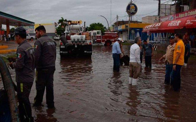 Por lluvias provocadas por Raymond Sedena aplicará plan DN-lll en BCS