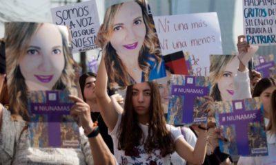 Marchan en Nuevo León pidiendo justicia por Abril Pérez