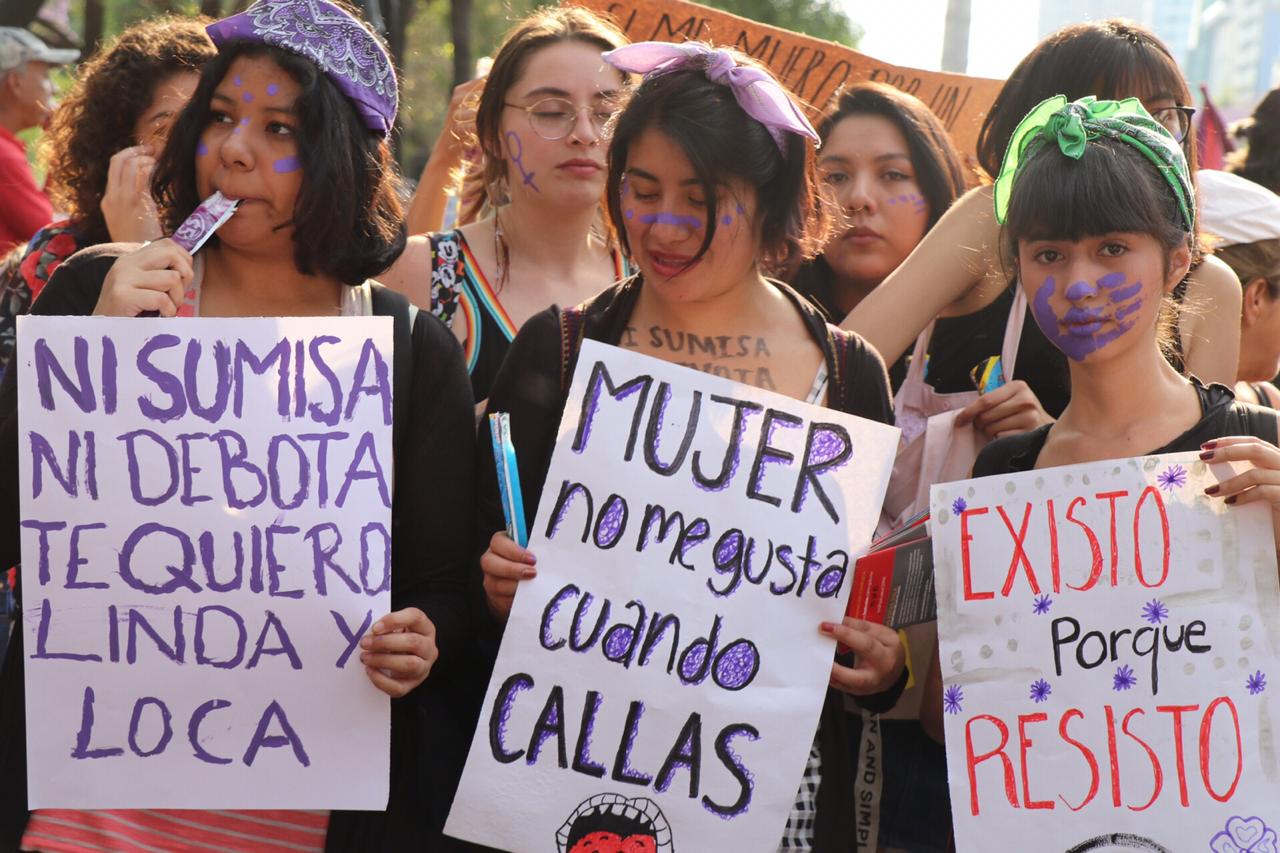 Mujeres, Feministas, Marcha, Operativo, CDMX, Protesta, Manifestación, Policía,