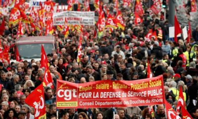 Francia vive segunda jornada de huelga