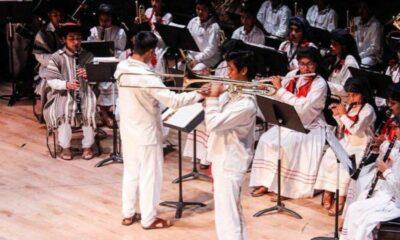 Roban instrumentos a la banda filarmónica Mixe en Oaxaca