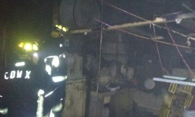 Incendio en mercado de las flores en Xochimilco; van 5 en un mes