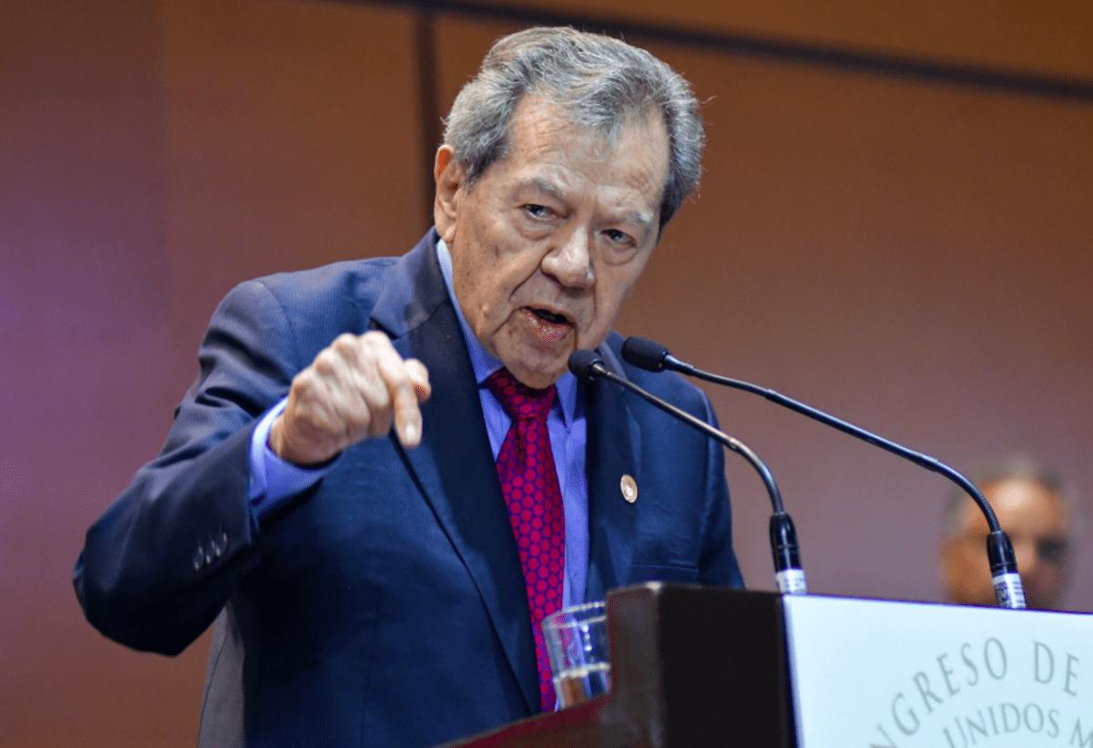 Muñoz Ledo condena agresiones de Guardia Nacional a migrantes