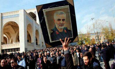 Protestas por asesinato de líder militar iraní