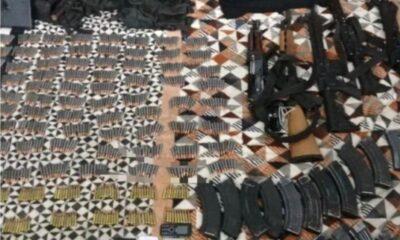 Detienen a tres menores en posesión de armas en Michoacán