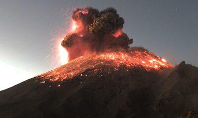 Popocatépetl tuvo explosión; continúa alerta amarilla fase 2