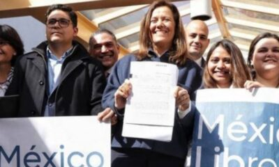 Zavala solicita registro de México Libre