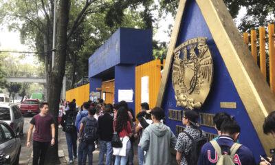 Alumnos de la Fes Iztacala y Facultad de Ciencias regresan a clases