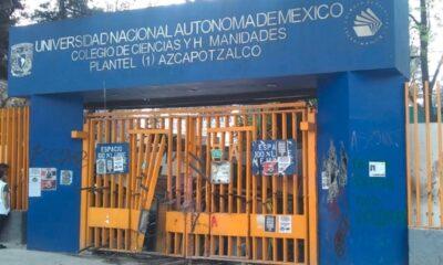 Se registra otro incendio en el CCH Azcapotzalco