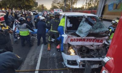 Ambulancia, Choque, Metrobus, Atotonilco, El Grande, Hidalgo, Línea 1, Indios Verdes,