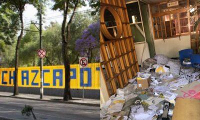 Autoridades de la UNAM recuperan CCH Azcapotzalco