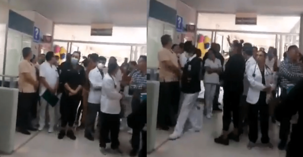 Hospital, IMSS, Médicos, Enfermeras, Trabajadores, Michoacán, Quemar, Pacientes, Covid-19, Coronavirus, Video,